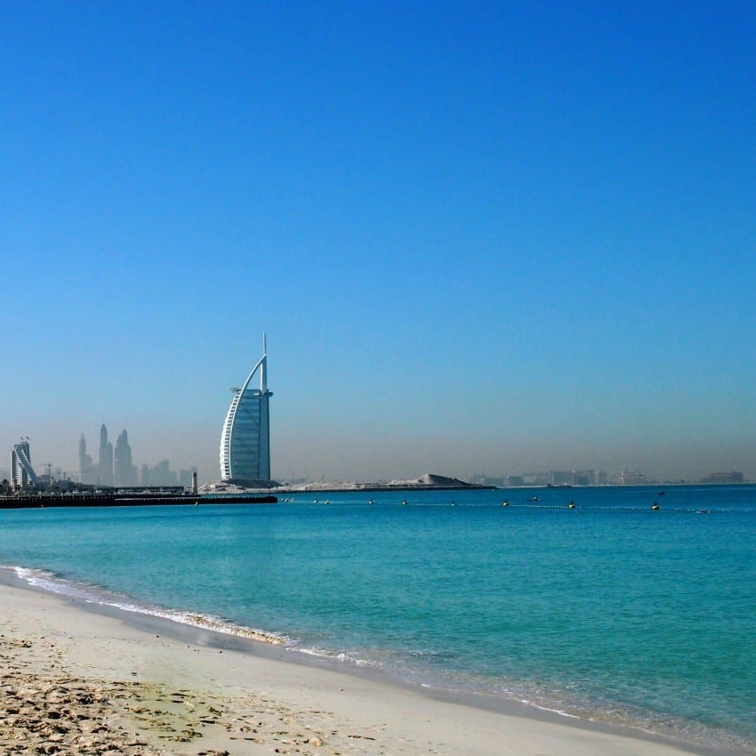 Dubai travel blog guide Dubai beaches
