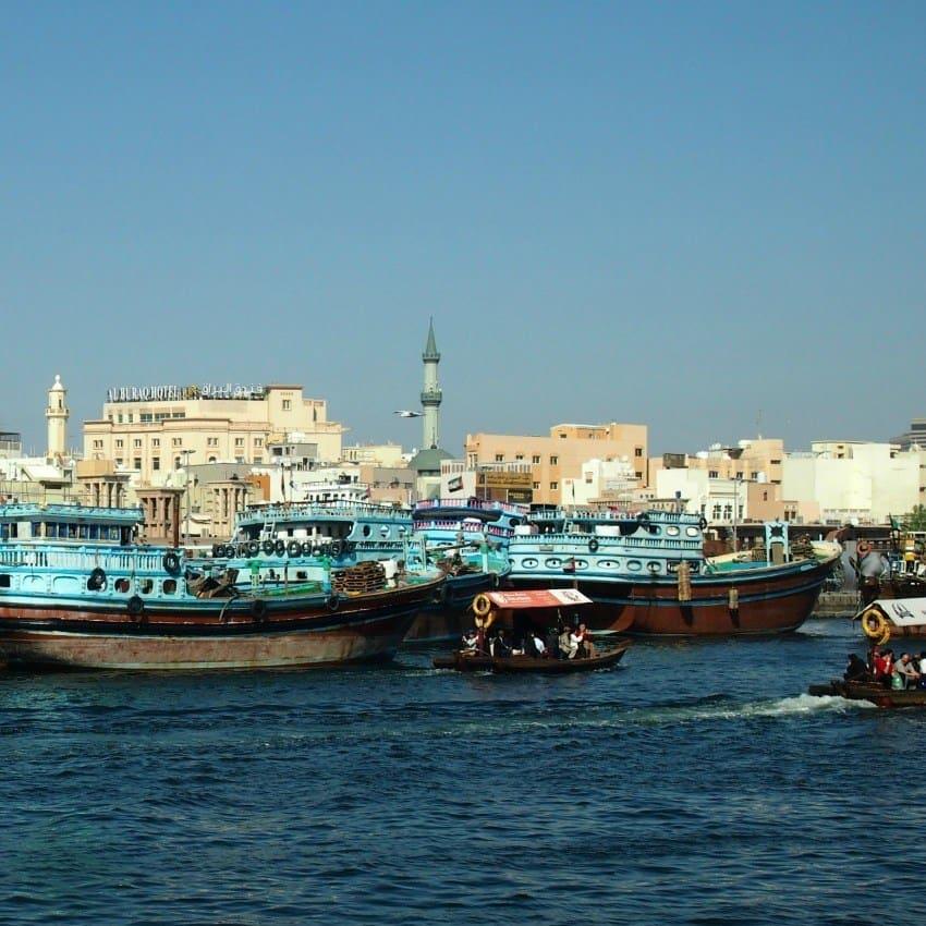 Dubai Creek boats and ferries blog