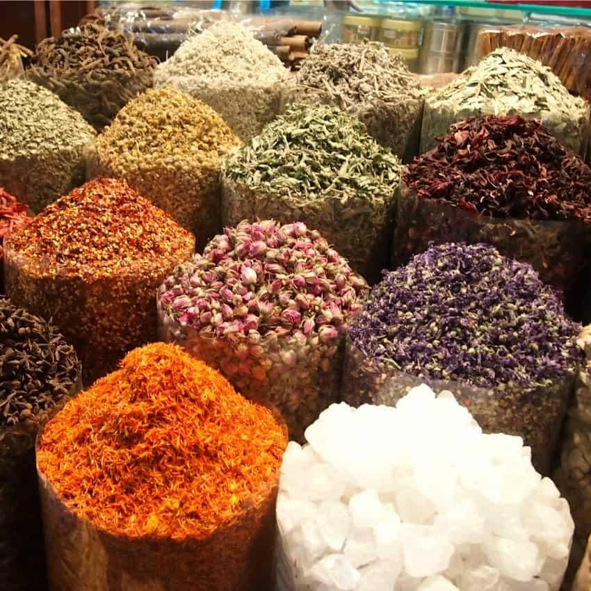 Dubai Souks the Spice Souk
