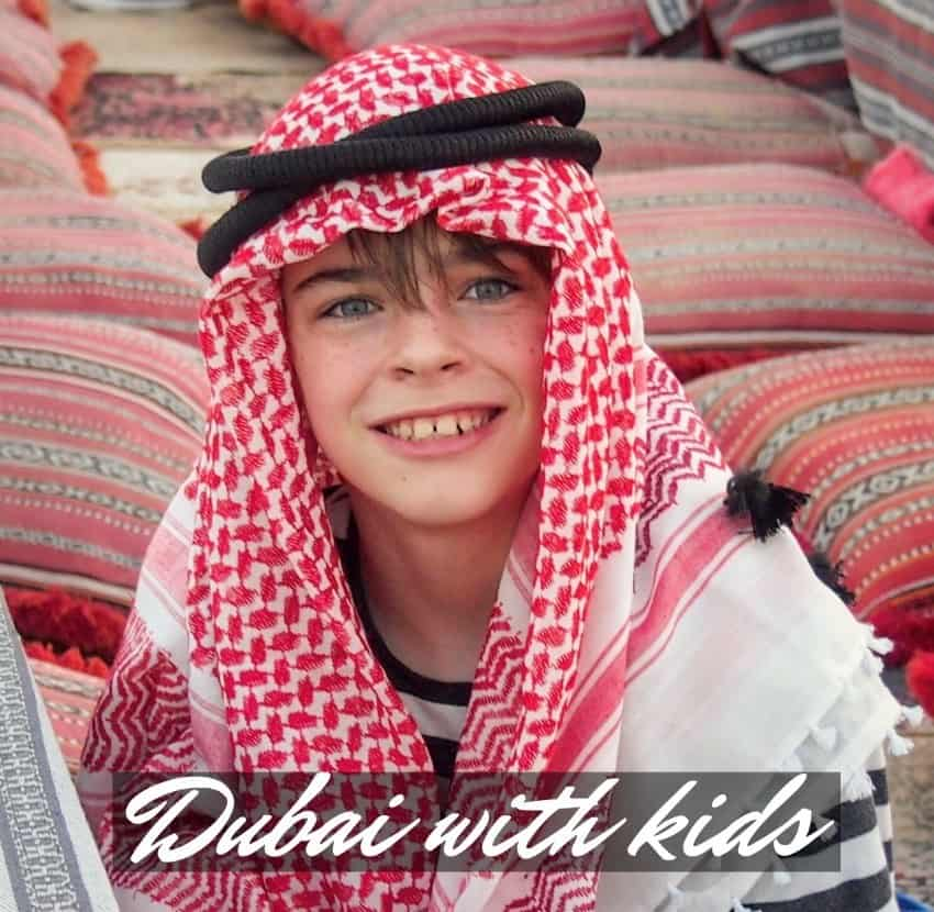 Dubai with kids blog guide
