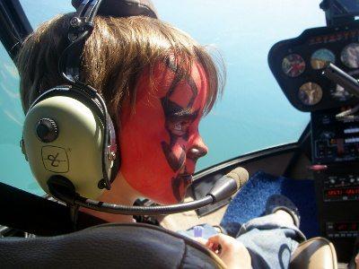 helicopter ride for children Port Douglas