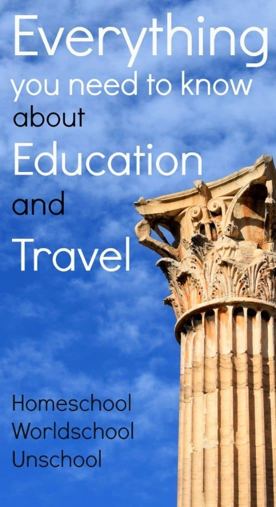 Homeschooling and travvelling - everything you need to know