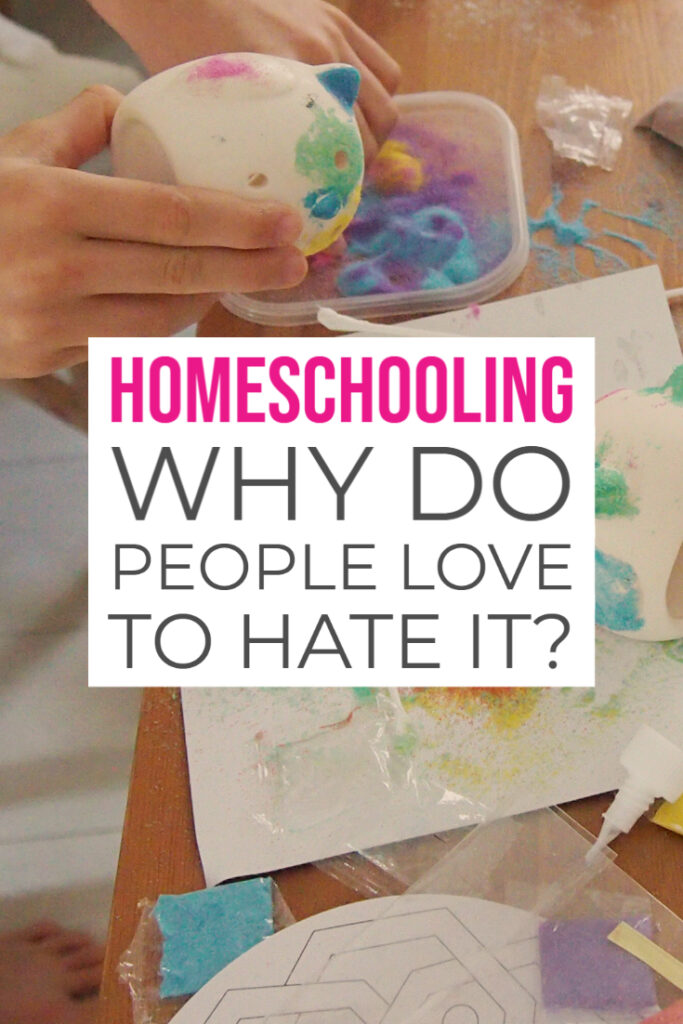 Homeschooling Why do people love to hate it