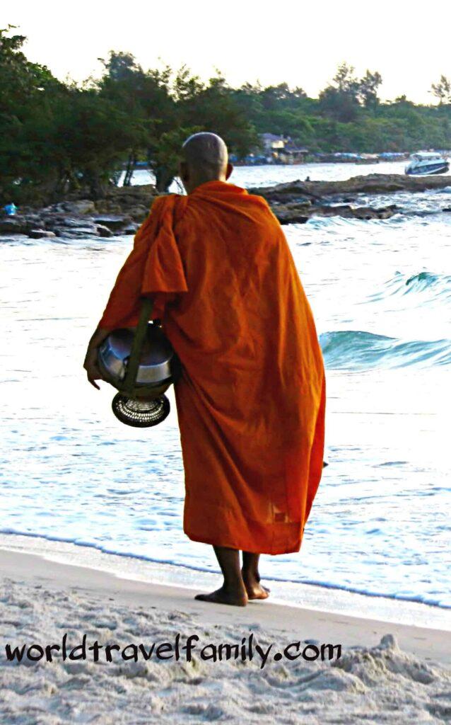 Koh Samet monk Thailand