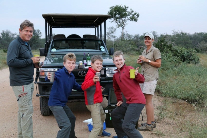 Kruger National Park with kids