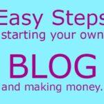 Starting your Own Blog making money