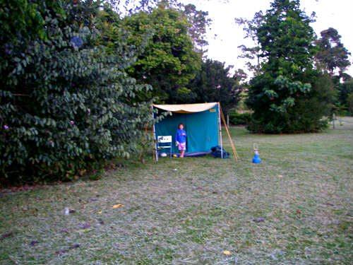 Atherton camping Tarzali Lakes. Cairns Platypus Park