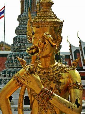 Bangkok Royal Palace Statue