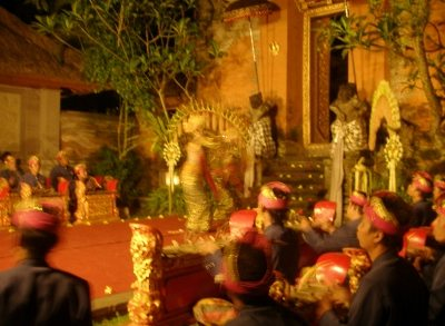 Dance Performance Ubud Palace