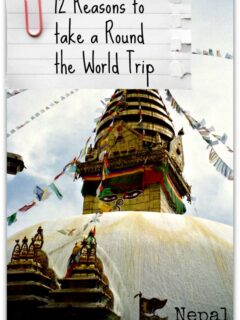 Reasons to take a Round The World Trip