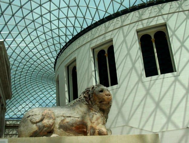 London with Children. Visiting the British Museum with children