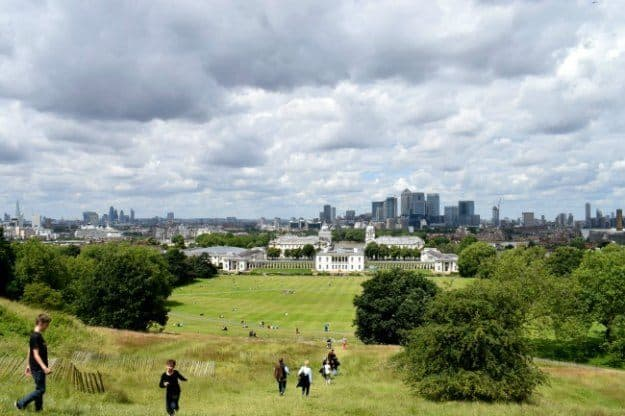 Visiting London with Children Greenwich attractions