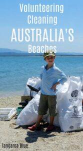 Volunteering cleaning beaches Australia Tangaroa Blue