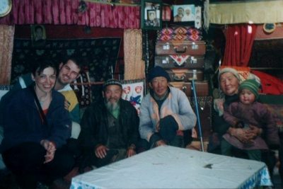 Tea with Mongolian nomads