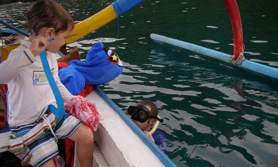 snorkeling the blue lagoon padang bai Bali