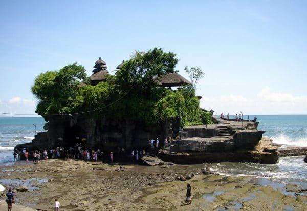 Bali with kids Pura Tanah Lot Bali
