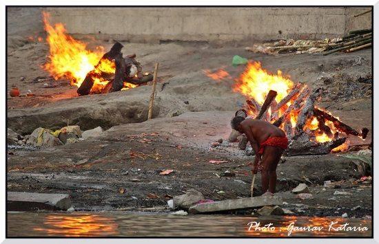 Cremation Varanassi
