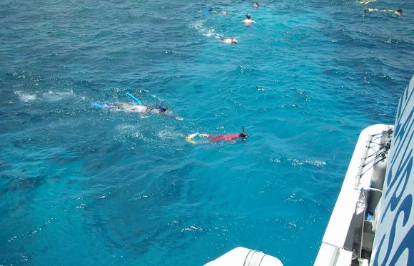 Can children snorkel The great Barrier Reef? You bet!