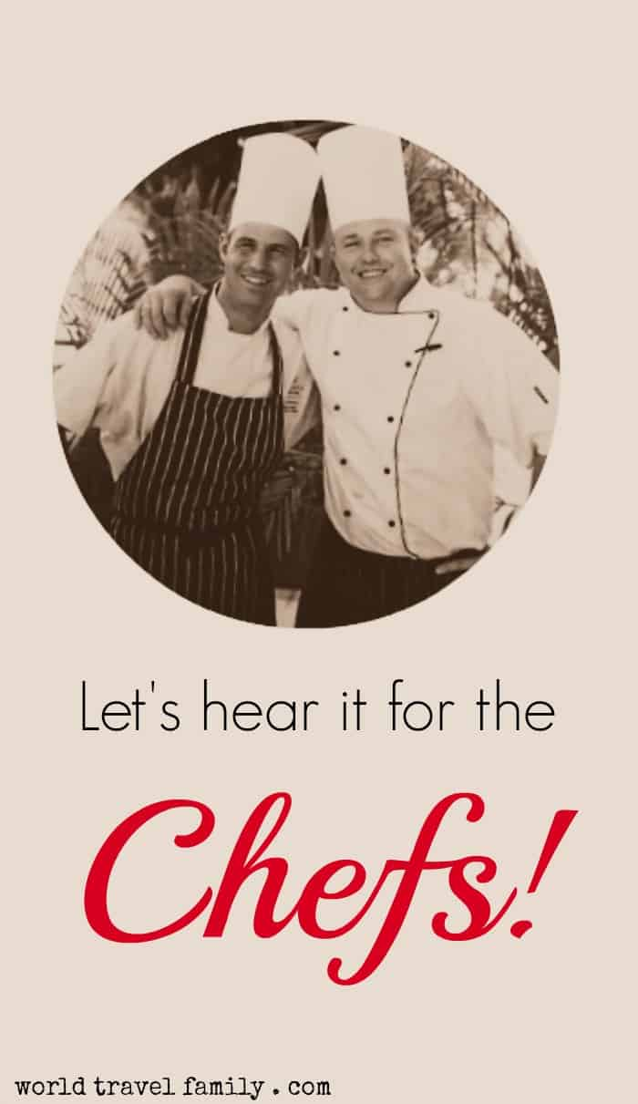 Lets hear it for the Chefs at Christmas
