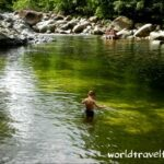 swimming at Mossman Gorge