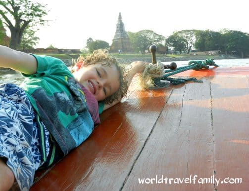 river cruise ayutthaya thailand