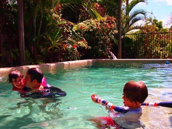 pool Port Douglas Australia, rented AirBnb