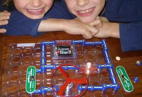 homeschool science. Electronic circuits set