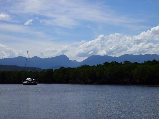Mossman gorge from Lady Douglas river cruise Port Douglas