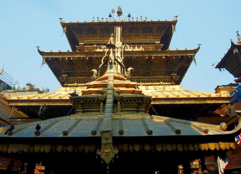 Golden Templa Patan Durbar Square Lalitpur
