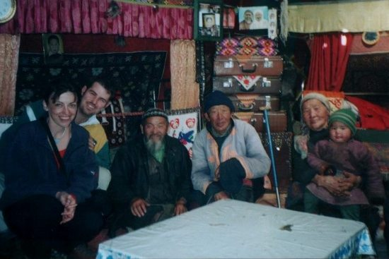 Inside a Ger Tent with Nomads in Mongolia