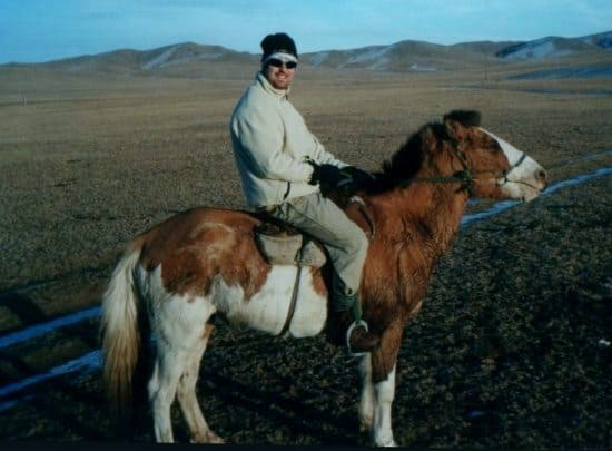 Riding Ponies in Mongolia