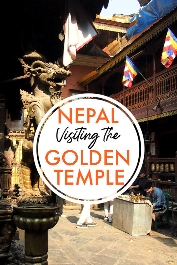 Nepal visiting the golden temple