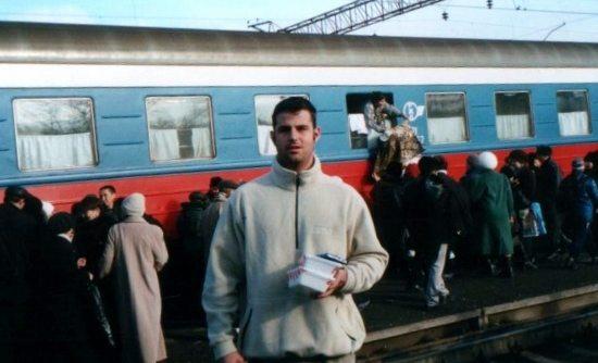 The Trans Mongolian Express Train