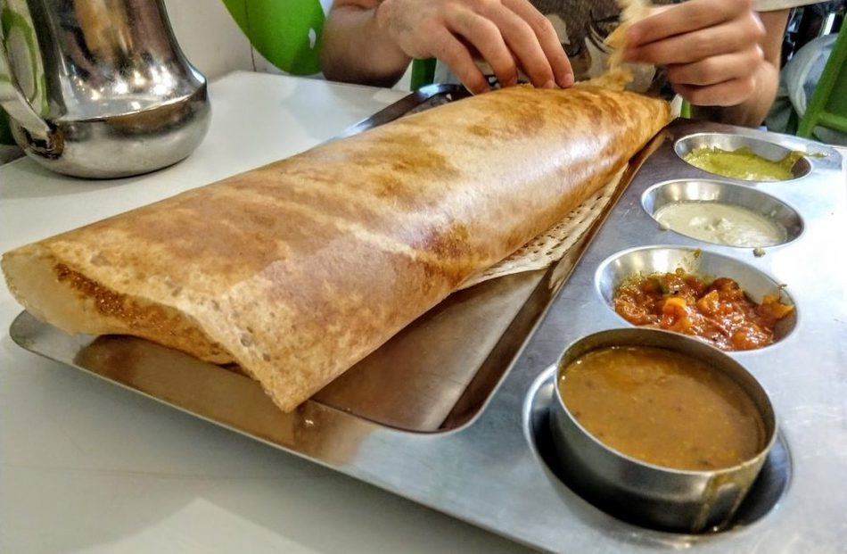 Indian Food in Malaysia Dosa or Thosai