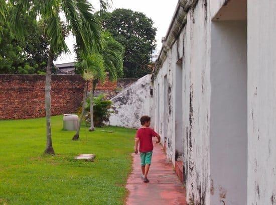 Fort Cornwallis Georgetown Penang Kids