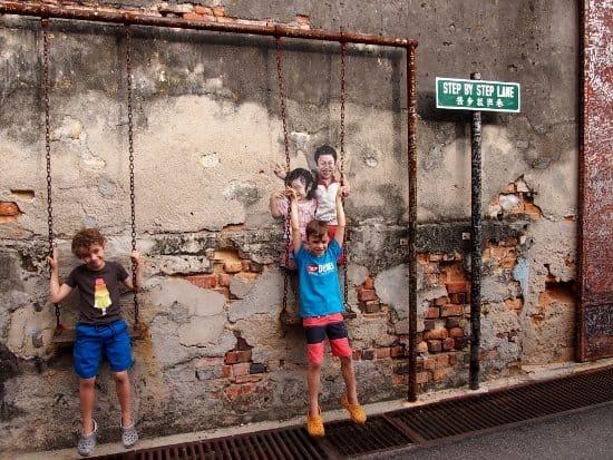 Penang Street Art Malaysia