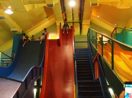 Giant slides Penang