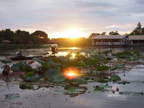 Beautiful Kanchanaburi, the River Kwai