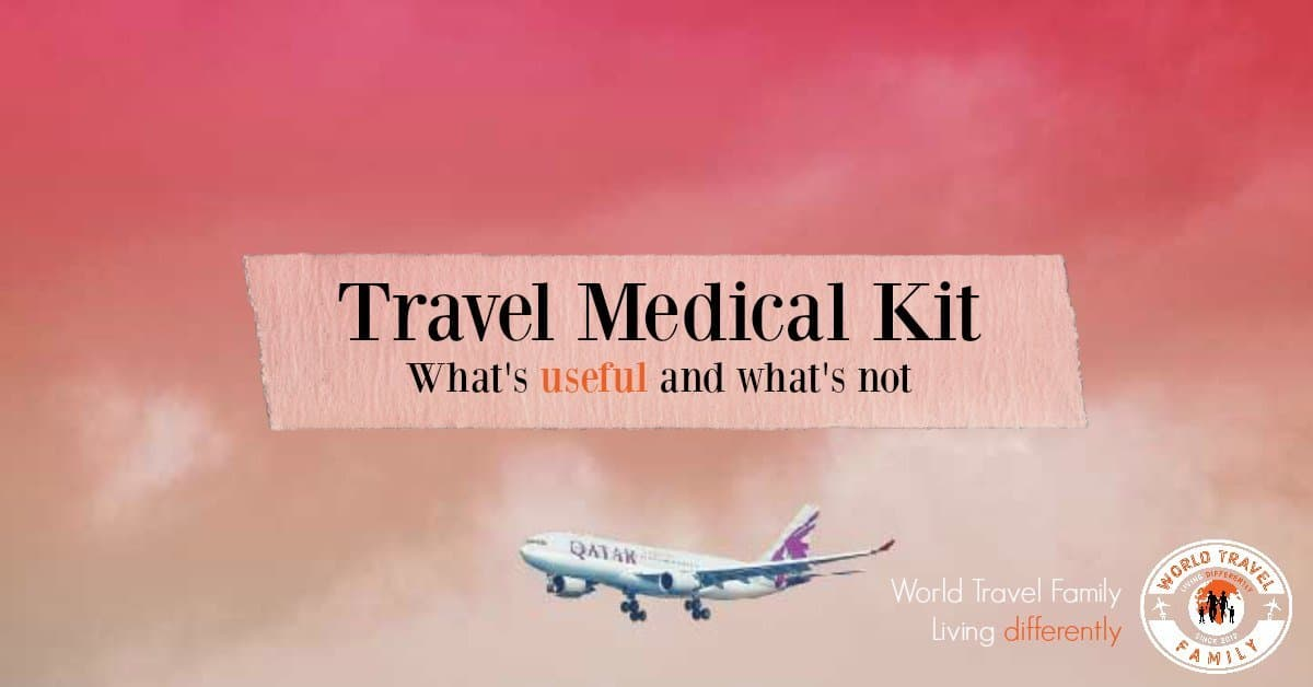Travel Mdical Kit Useful Things to Have