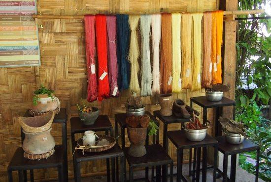 Ock Pop Tok Luang Prabang Natural dyes