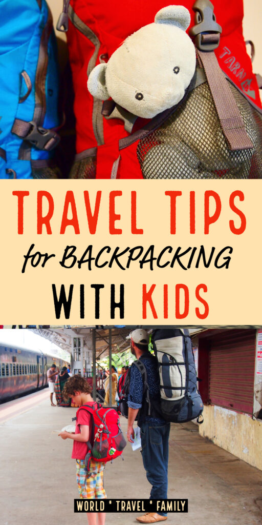 travel tips for backpacking with kids