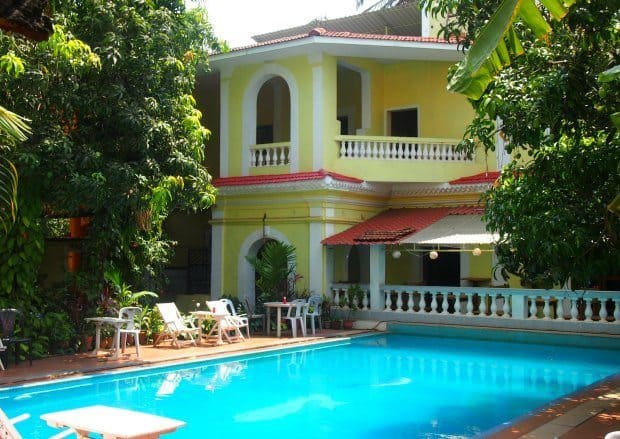 Budget Hotel with pool in Goa