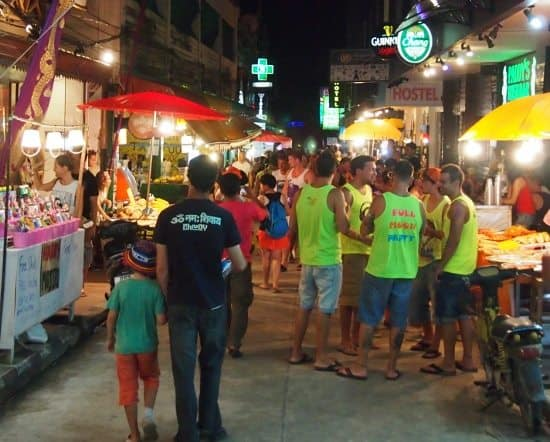 Take kids to the full moon party on Ko Phangan Haad Rin