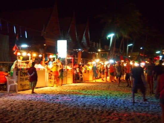 Take kids to the full moon party Haad Rin Beach Ko Phangan