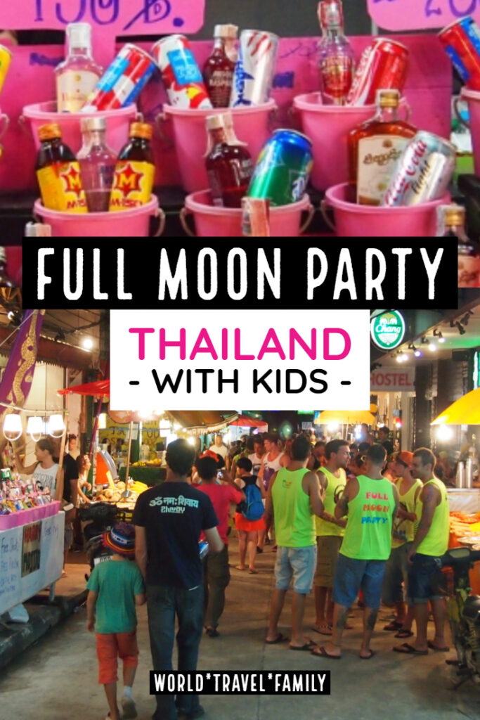 Full Moon Party Thailand With Kids