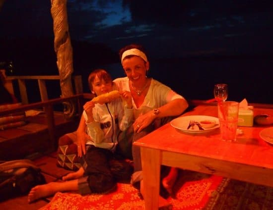 staying on Haad Salad, Ko Phangan Scuba Diving Sail Rock