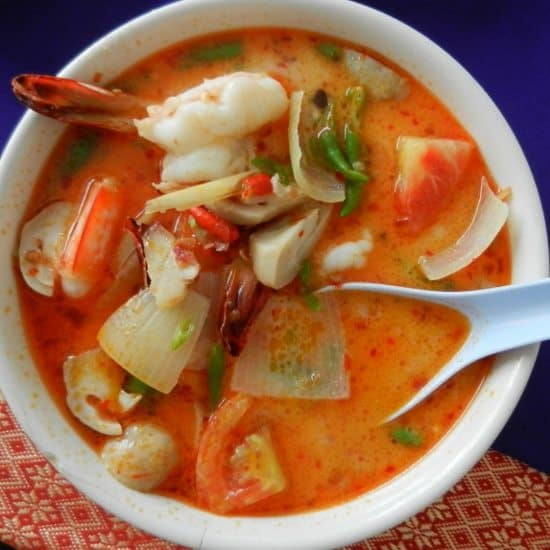 Thai Food for beginners tom yum