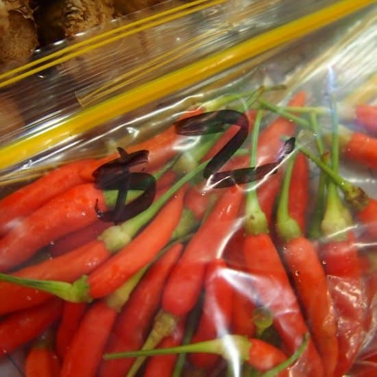 Thai food for dummies chilies