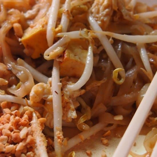 Pad Thai. Thai food for beginners. Thailand