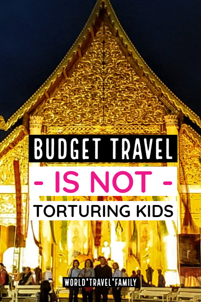 Budget travel with kids